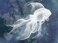 Indigo Fish II Fine-Art Print