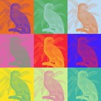 Parrot Party I Fine-Art Print