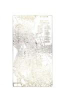 Gold Foil City Map Boston- Metallic Foil Fine-Art Print