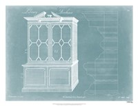 Chippendale Library Bookcase I Fine-Art Print