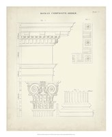 Greek & Roman Architecture IV Fine-Art Print