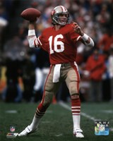 Joe Montana 1984 NFC Championship Game Action Fine-Art Print