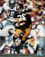 Rocky Bleier Super Bowl X Action Fine-Art Print