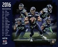 Seattle Seahawks 2016 Team Composite Fine-Art Print