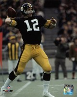 Terry Bradshaw 1972 Action Fine-Art Print