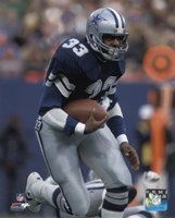 Tony Dorsett 1981 Action Fine-Art Print