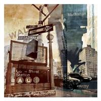 Wall Street 6 Fine-Art Print