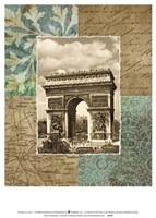 Paris Scrapbook I Fine-Art Print