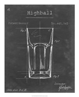 Barware Blueprint II Fine-Art Print