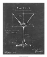 Barware Blueprint V Fine-Art Print
