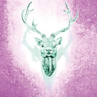 Mosaic Deer Fine-Art Print