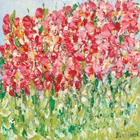 My Little Sweet Pea Garden Fine-Art Print