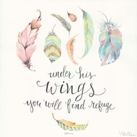 Under His Wings Fine-Art Print