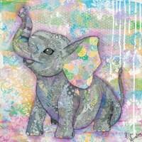 Sweet Baby Elephant II Fine-Art Print