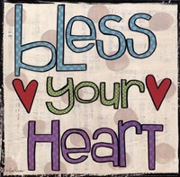 Bless Your Heart Fine-Art Print
