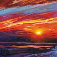 Mountain Top Sunset Fine-Art Print