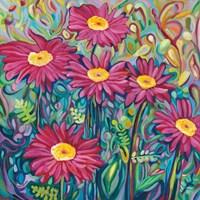 Happy Daisies Fine-Art Print