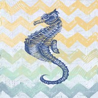 Chevron Sea Horse Fine-Art Print