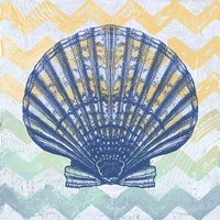 Chevron Shell Fine-Art Print