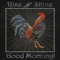 Good Morning Rooster I Fine-Art Print