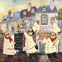 Italian Chefs II Fine-Art Print