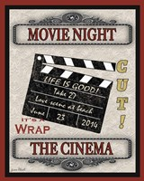 Movie Night - Light I Fine-Art Print