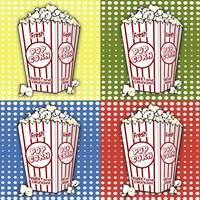 Popcorn Pop Art I Fine-Art Print