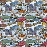 Route 66 - Cars I Fine-Art Print