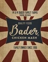 Chicken Mash Feed Sack Fine-Art Print