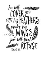 Cover You With Feathers Fine-Art Print