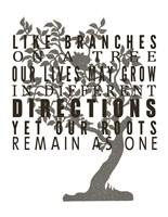 Family Tree Branches Fine-Art Print