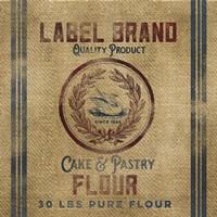 Cake Flour Burlap Bagf Fine-Art Print
