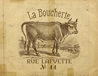 French Cow Fine-Art Print