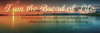 John 6:35 I am the Bread of Life (Sunset) Fine-Art Print