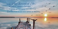 John 6:35 I am the Bread of Life (Pier) Fine-Art Print
