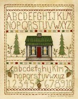 Woodsy Sampler Fine-Art Print
