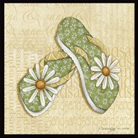 Daisy Sandals Fine-Art Print