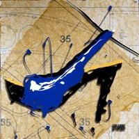 Blue Heel Fine-Art Print