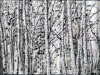 Winter Aspens Fine-Art Print