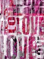 Grunge Love Fine-Art Print