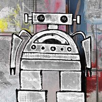 Big Bot Fine-Art Print