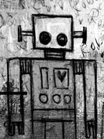 Boy Robot Fine-Art Print