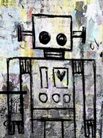 Boy Robot Color Fine-Art Print