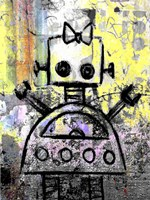 Girl Robot Color Fine-Art Print