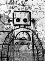 Graffiti Robot Fine-Art Print
