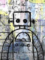 Graffiti Robot Color Fine-Art Print