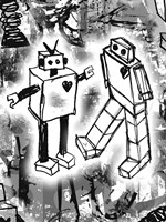 Robot Love Fine-Art Print