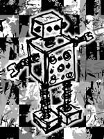 Sketched Robot Fine-Art Print
