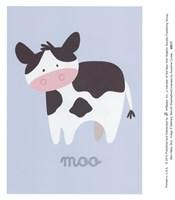 Barn Baby Moo Fine-Art Print