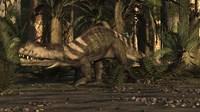 A Large Prestosuchus Moves Through The Brush Fine-Art Print